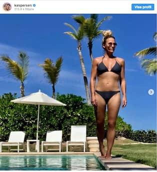 carola häggkvist bikini