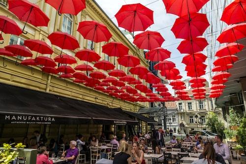 Manufaktura är en av staden mest populära restauranger.