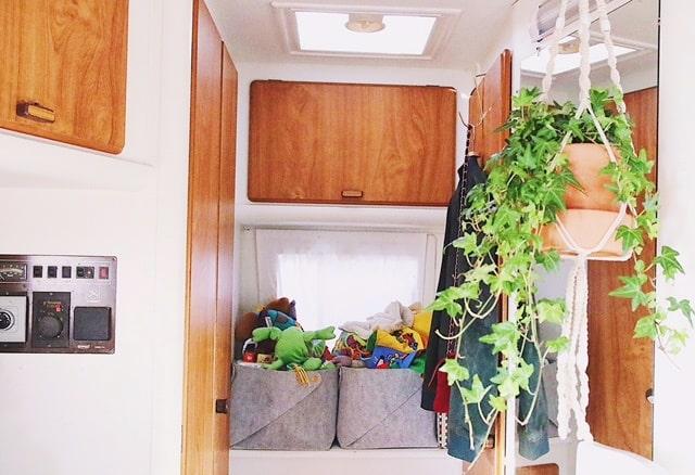 Att ha var sak på sin plats är extra viktigt när man bor på liten yta.