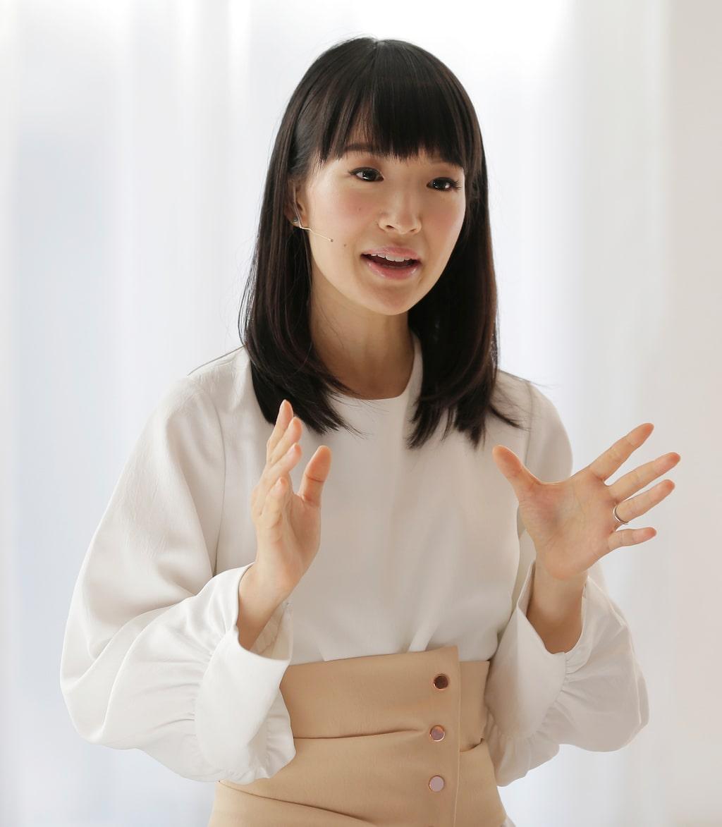 """Städgurun Marie Kondo är aktuell med Netflix-serien """"Konsten att städa med Marie Kondo."""""""
