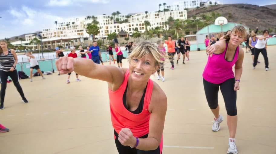 Playitas på Fuerteventura har över en miljon kvadratmeter träningsyta så möjligheterna till aktivitet är oändliga.