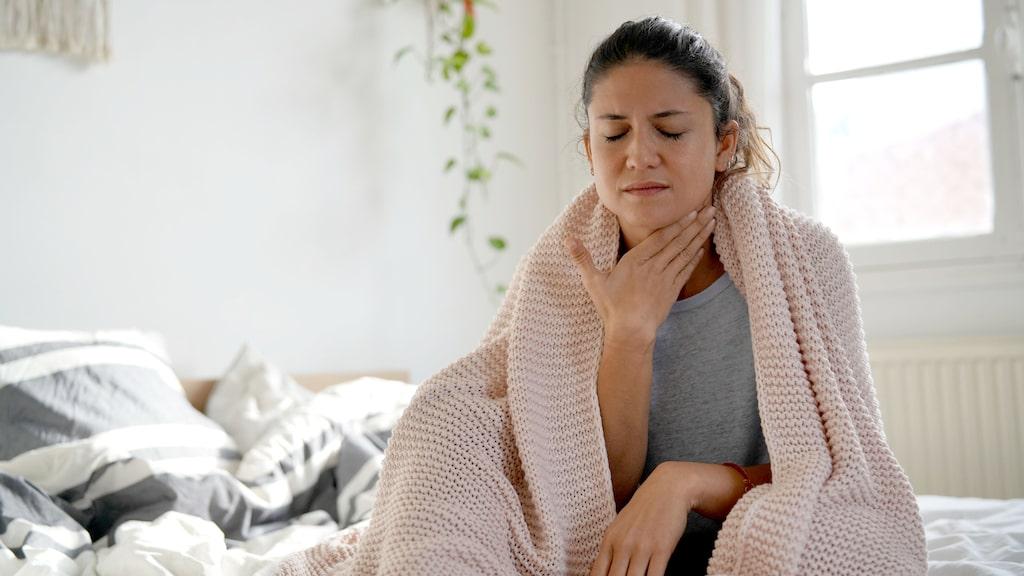 Kan man träna även om man har ont i halsen?