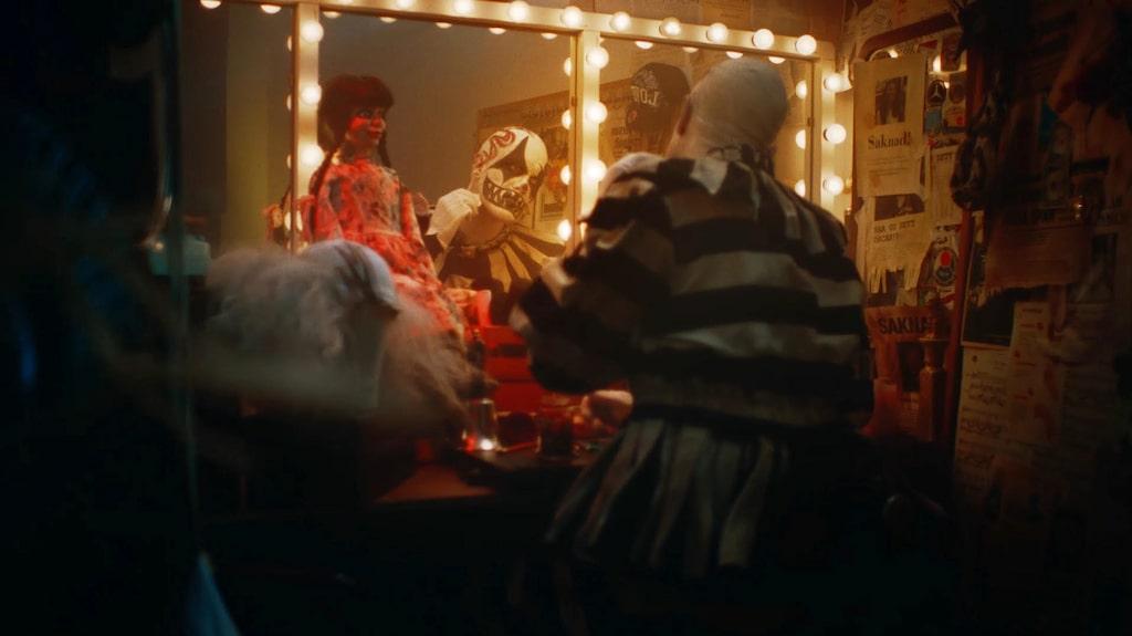 Reklamfilmen för förra årets skräcknyhet på Liseberg – Cirkus Bisarr – var så läskig att den stoppades av Youtube.