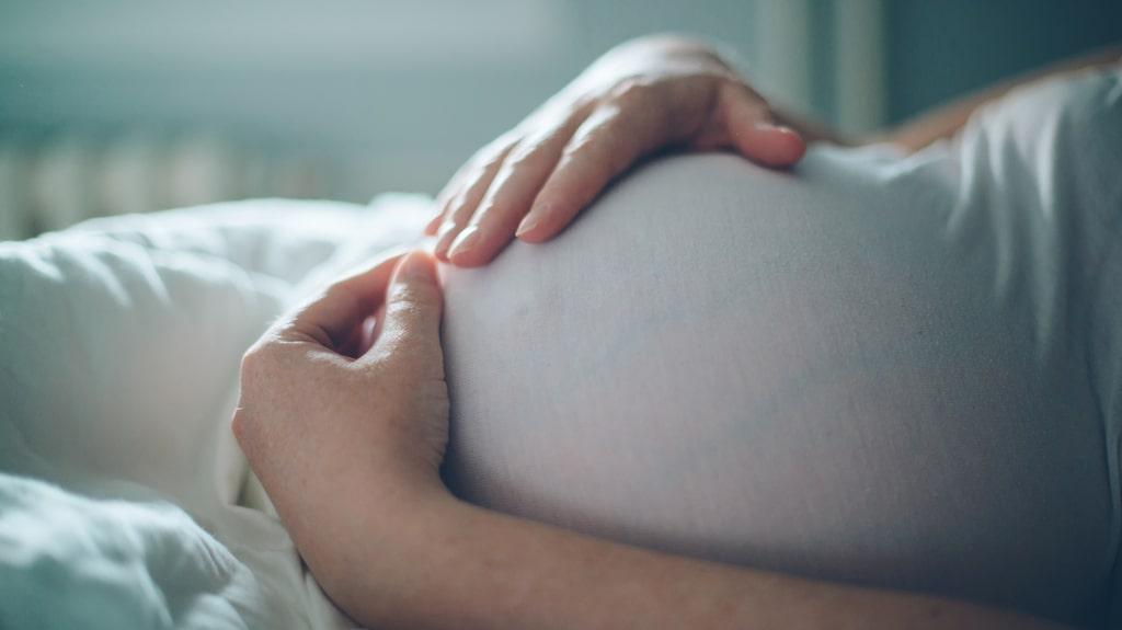 Yvette, 47, förstod att något var fel, redan när hon var gravid.