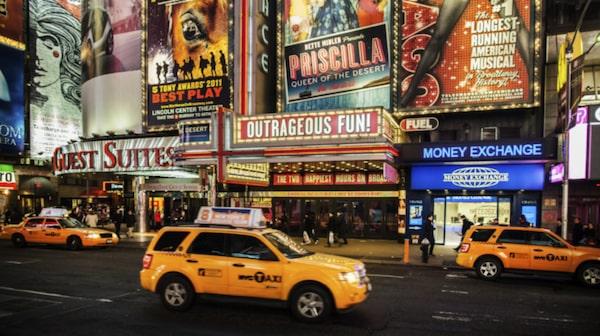 På Broadway spelar eliten av eliten.
