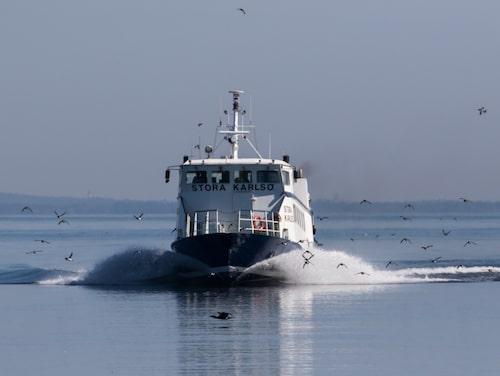 Båten till Stora Karlsö.