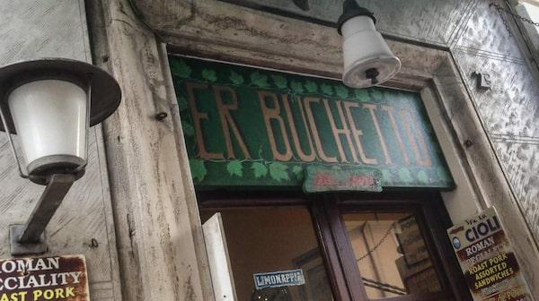 Lätt att missa Er Buchetto