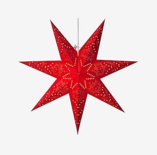 julstjärna på fot ica maxi