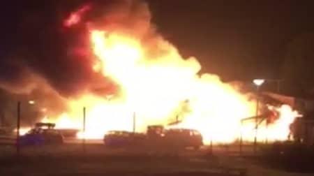 50e6d4415a5 Kraftig brand i moskén i Vivalla i Örebro