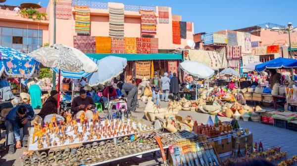 I Essaouira finns det många fina hantverk.