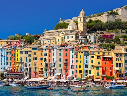 La Spezia. En av Italiens alla vackra kuststäder längs rutten.