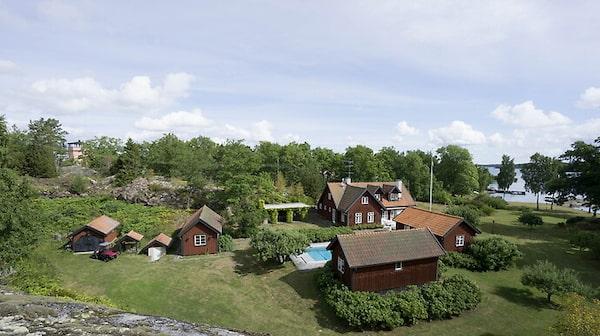 Trångholmen – egen ö i Stockholms skärgård.