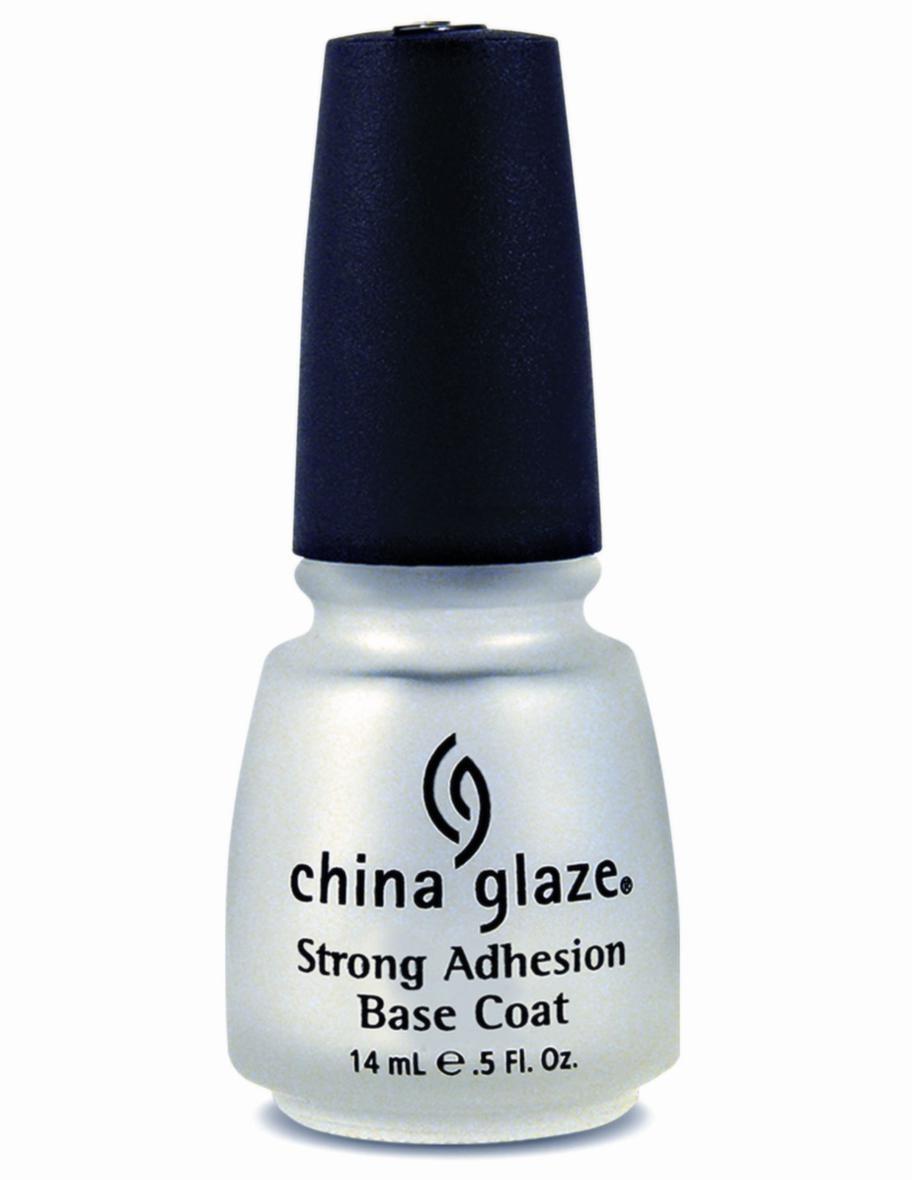 Bas och topp. Grunda och toppa för bästa hållbarhet och vacker glans. Strong adhesion base coat och Fast forward top coat, China Glaze, 14 ml, 98 kronor.