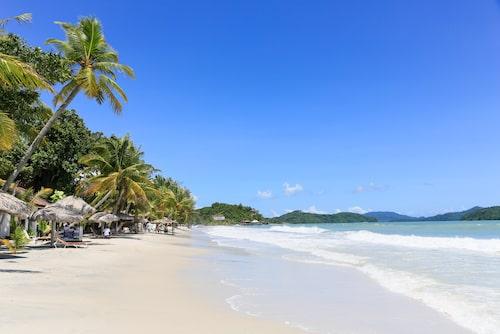 Cenang beach på Langkawi.