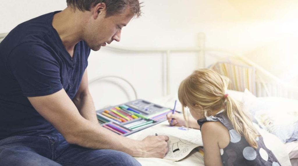 <p>Kanske haka på barnen nästa gång? Annars finns speciella målarböcker för vuxna.</p>