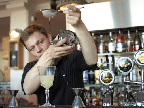 Slippbarinn blandar fantastiska säsongsmässiga cocktails.