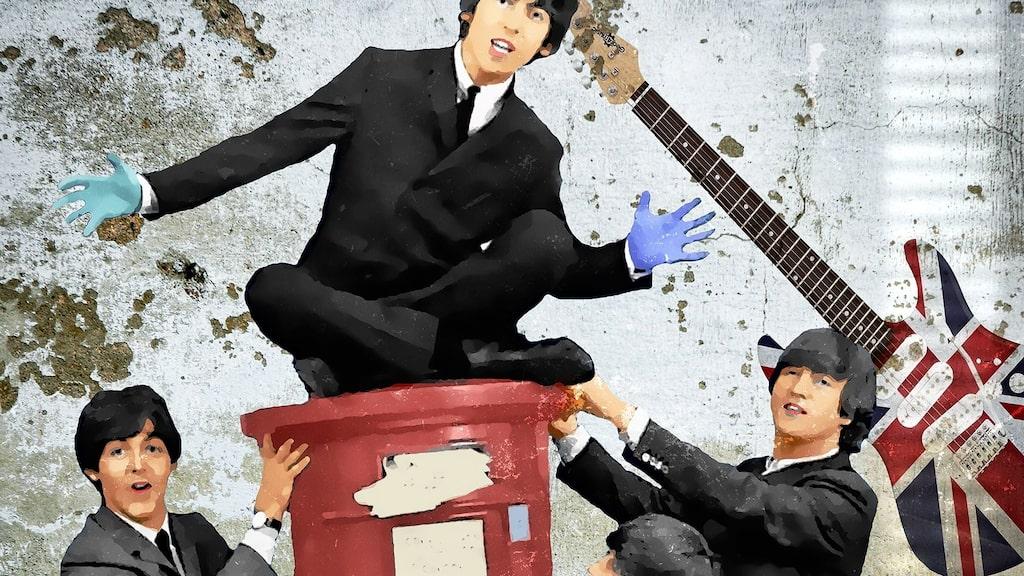 """""""The Beatles, Mr Postman"""" av Per Siwmark"""