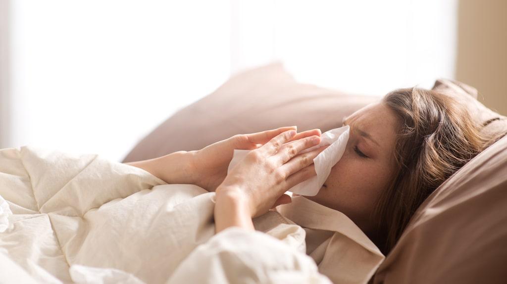 Tyvärr är det väldigt lätt att bli smittad av förkylnings- och influensavirus.