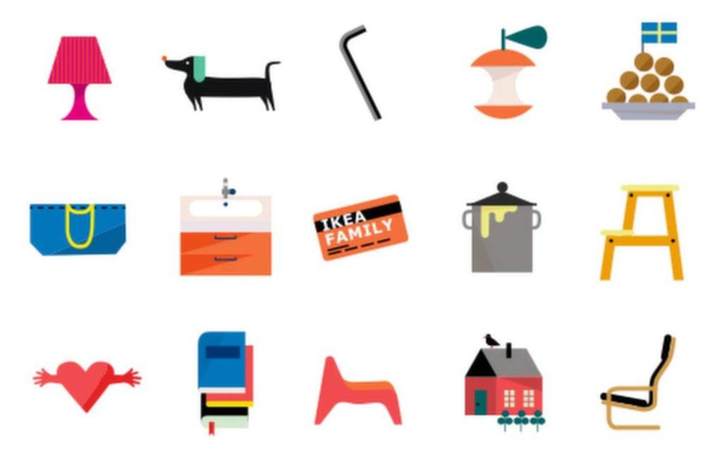 Skicka lite kärlek – med Ikeas egna emojis.