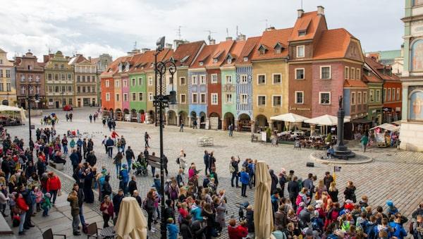 Poznan har ett av Europas vackraste torg.