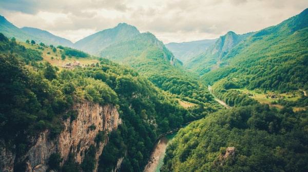Upplev vacker natur i Montenegro.