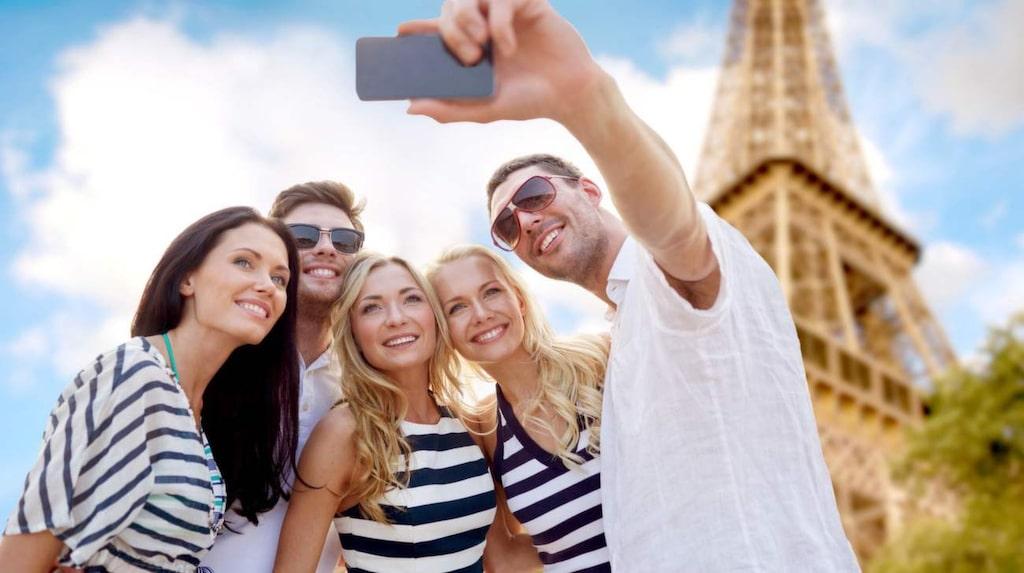 Eiffeltornet i Paris är världens mest besökta sevärdhet med entréavgift.