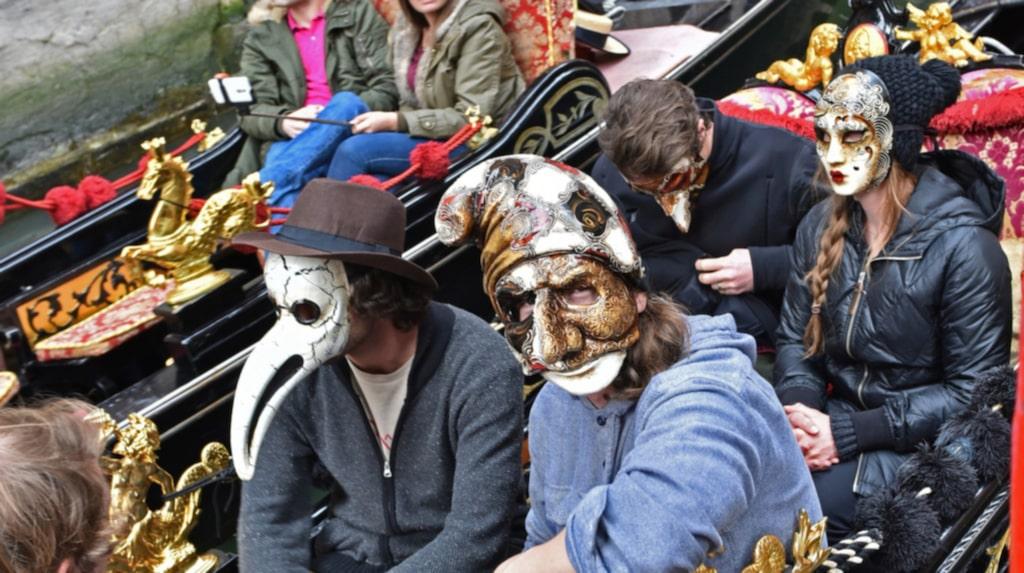 <p>Venedigs maskeradtradition syns överallt i staden.</p>
