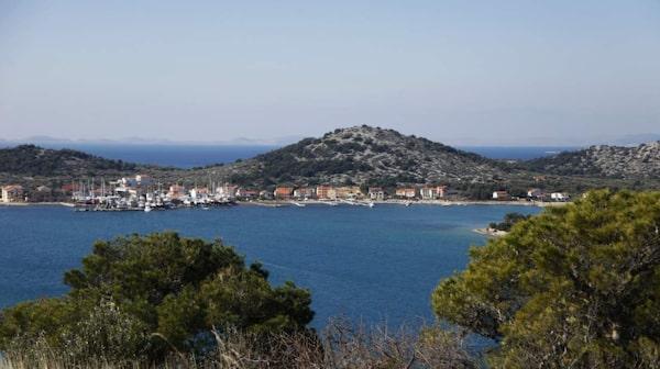 Murter är porten till Kornati nationalpark