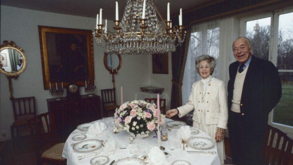 Expressenfotografen Per Kagrell gjorde ett exklusivt besök på Villa Solbacken 1982, då prins Bertil och Lilian fortfarande bodde där.