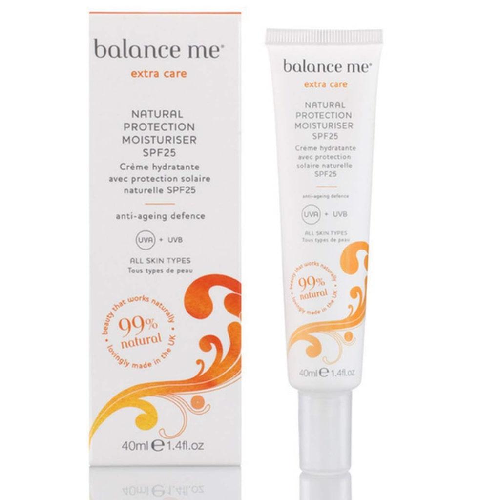 <p><strong>3. Solskydd för ansiktet </strong><br></p><p>Även ansiktet kan behöva särskilt solskydd. Denna från Balance Me är lätt, täpper inte till huden och har spf 25.  Balance Me, Natural Protection Moisturiser, 40 ml, 375 kronor hos aliceandwhite.com.</p>