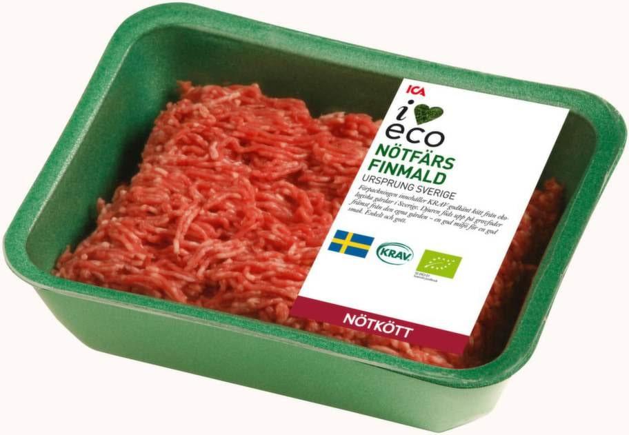 <strong>2 KÖTT.</strong><p>Att äta mindre kött bidrar till bättre  miljö. Om  du ändå ska äta kött, välj ekologiskt, då bidrar du till samma   miljöfördelar som när du köper ekologiska mejerivaror.</p>