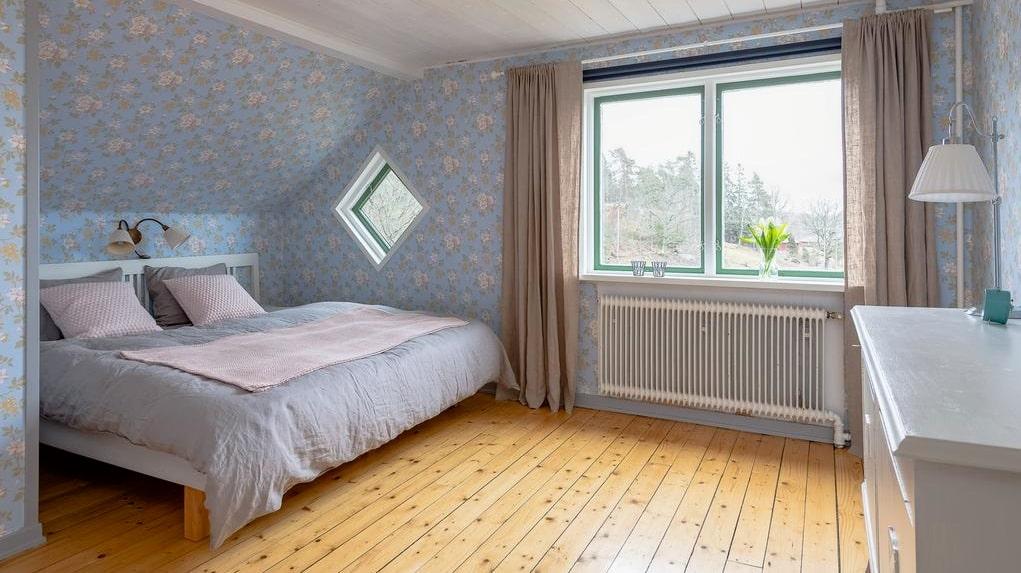 Huset på Hammersta Backgården har sex rum.