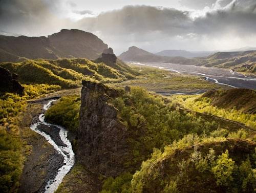Nationalparken Þórsmörk.