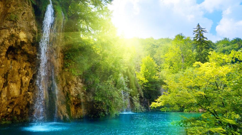 Plitvicesjöarna (nationalpark), Kroatien