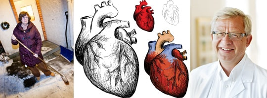 """""""Hälften av alla som får en tyst hjärtinfarkt är döda inom tio år"""", säger professor Jan Nilsson."""