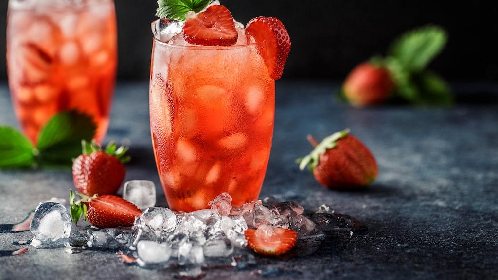 jordgubbar...