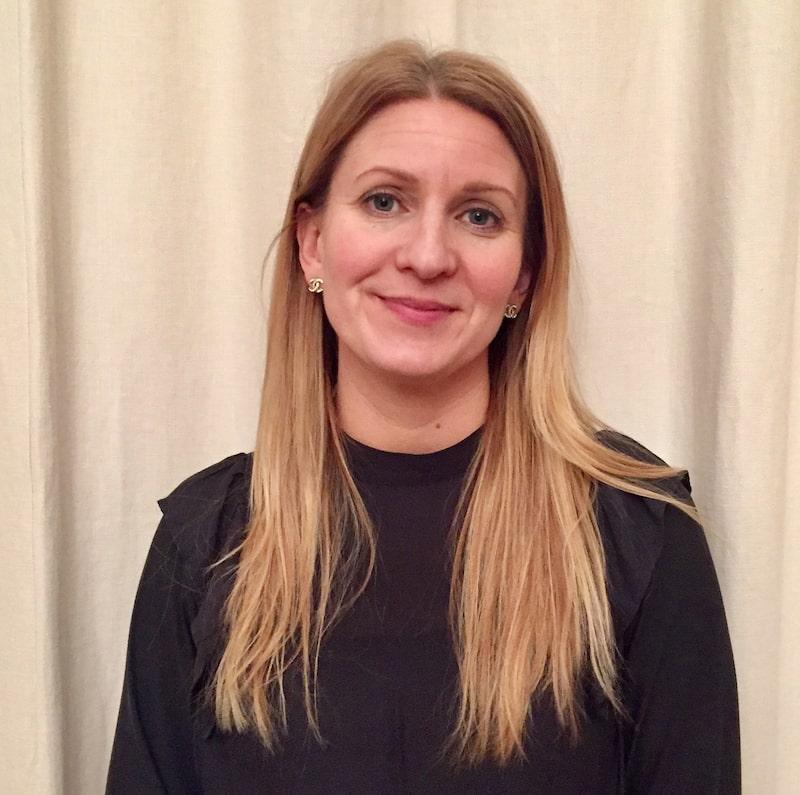 """Anna Skott läser utbildningen """"Yrkesutbildning inredare"""" hos Inredningskurser.se."""