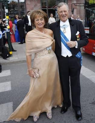 f80fe88d23a8 Styrelseproffset Michael Treschow och hans hustru Lena Treschow Torell  lovordar brudparet. – De ser fantastiskt lyckliga ut. De strålade på  konserten i går, ...