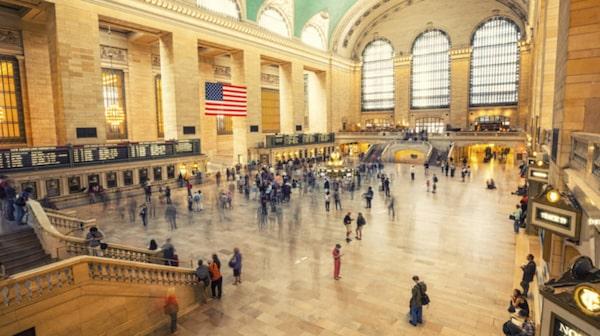 Grand Central Terminal är en bra plats att glo på folk.