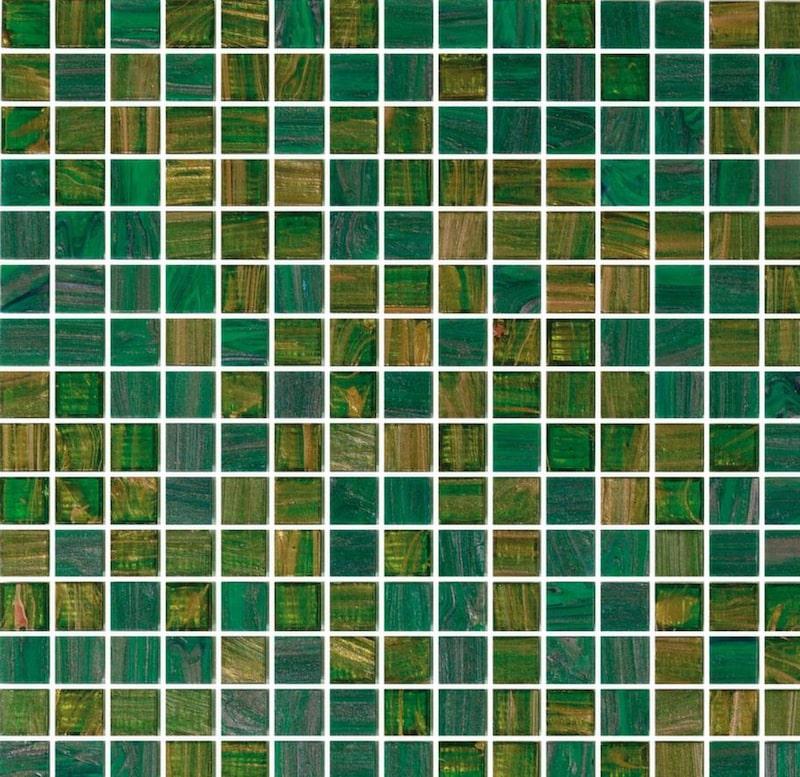 Lyxig glasmosaik från Italien. 3 230 kronor per kvadratmeter, konradssons.se.
