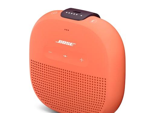 Micro är en en packvänlig tålig liten högtalare att ta med på resor eller utflykter.