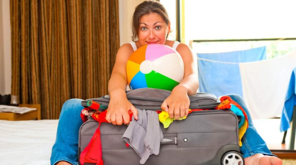 Handbagage får varken väga för mycket eller ta för stor plats.