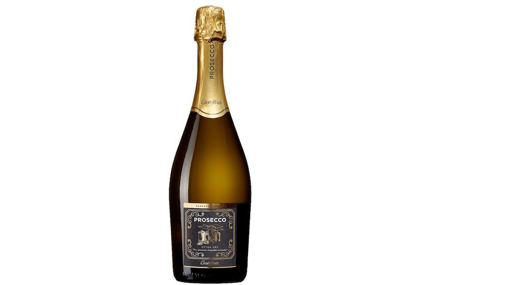 Prosecco återfanns på hela sju positioner på tio i topp-listan. Castelforte kom på en andraplats.