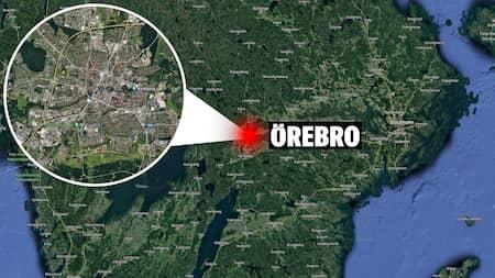 9b840f4688d I Örebro har en trafikolycka inträffat – polisbil inblandad