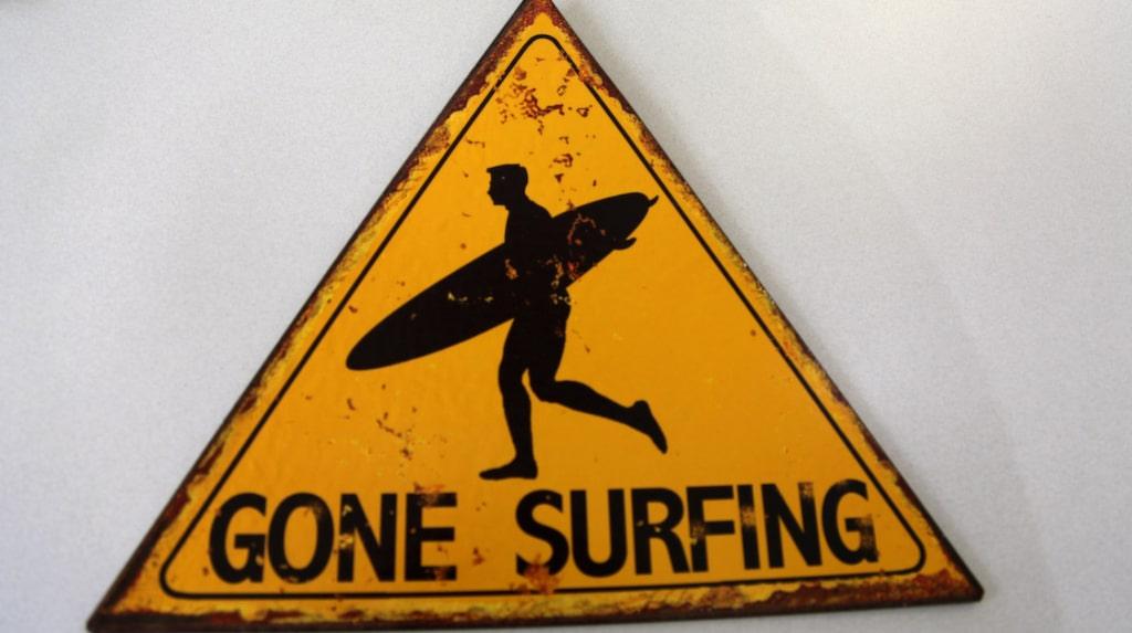 Det finns ett surfmuseum i Torquay.