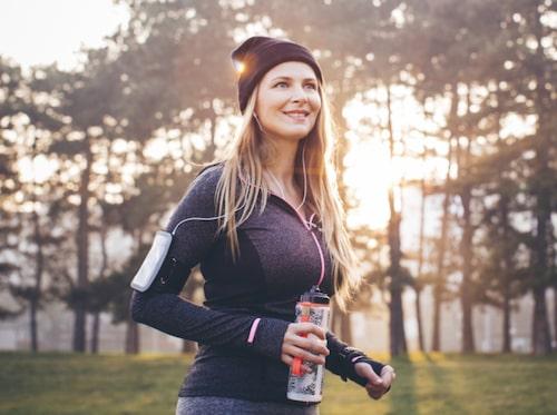 Vecka två ökar du promenaderna till 40 minuter.