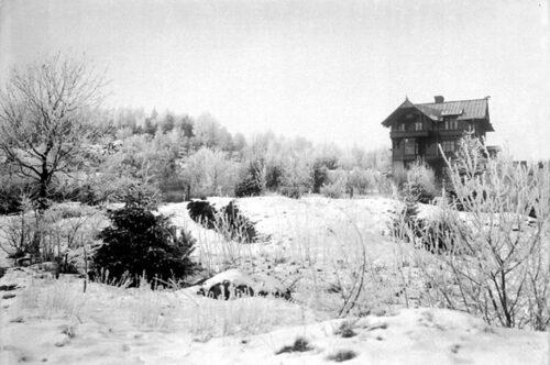 Arkitekten bakom villa Skanskullen har ritat flera vackra sekelskifteshus i Uddevalla.