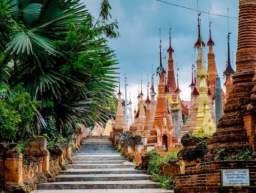 Det är osäkert att åka till vissa områden i Burma.